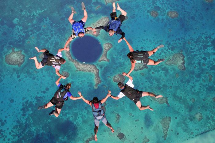 Exploring the Mysterious Great Blue Hole in Belize