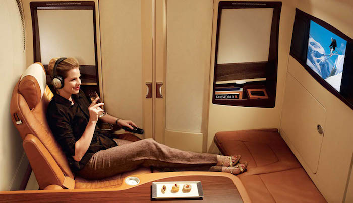 Poltrona First Class.What It S Like To Fly The 23 000 Singapore Airlines Suites