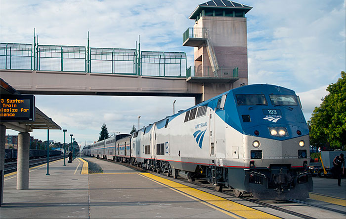 I Arrived At The Station And Found My Train Famous California Zephyr A Direct Traveling 2 438 Miles From San Francisco To Chicago Over 3 Days